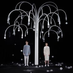 COS x studio swine will create an immersive, multi-sensory experience, named 'new spring', that reflects the optimism and renewal of seasonality.