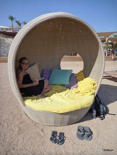Beach Cabana Sun Shade