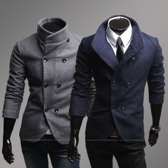 Popular Mens Wool Trench Coat Double Breasted-Buy Cheap Mens Wool ...                                                                                                                                                                                 More