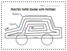 A first for a series of FUN practice sewing sheets perfect for middle school aged / beginner sewers! Cute phrases, riddles and jokes are added to the joy of learning how to sew! Be on the lookout for more fun sheets ahead! Sewing Projects For Kids, Sewing For Kids, Sewing Ideas, Quilting Patterns, Sewing Patterns Free, Cute Phrases, Funny Puns, Couture, Learn To Sew