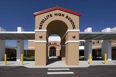 Satellite High School, Satellite Beach Florida. Graduated from here 1972.