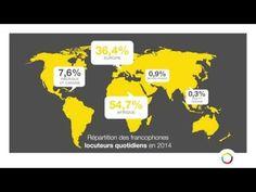 La langue française dans le monde - YouTube