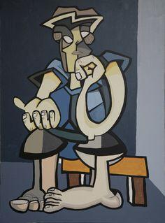 Acrílico sobre lienzo 2006. 72x100 cms.