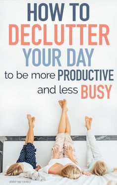Learn the secret to being a more productive and less busy mom with a step by step guide to decluttering your schedule to make time for what matters most. Get the tools you need including a printable workbook and MORE! Pregnancy Information, Twin Mom, Baby Arrival, Time Management Tips, Baby Hacks, Mom Hacks, Life Hacks, Working Moms, Make Time