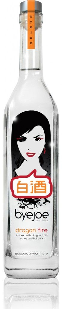 Byejoe Dragon Fire - a baijiu liquor available in the US
