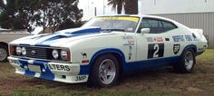 Allan Moffat ford XC falcon cobra - My list of the best classic cars Australian Muscle Cars, Aussie Muscle Cars, Custom Classic Cars, Best Classic Cars, Car Ford, Ford Gt, V8 Supercars, Ford Galaxie, Ford Falcon