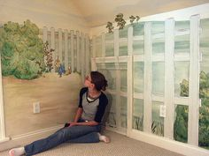 Beatrix Potter Nursery Mural By Twisted Textiles Via Flickr