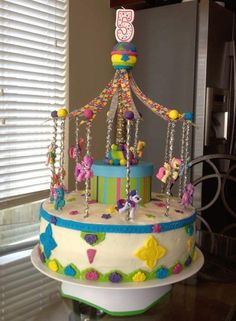 My Little Pony Carousel Cake | Cookie Connection
