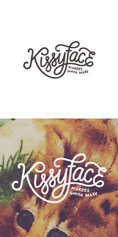 My lovely Kissyface logo by @studiopapa