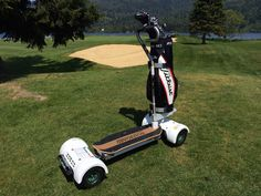 #GolfBoard | A cool alternative to the traditional, seated golf cart