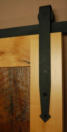 Custom Flat Track #barndoor #hardware #specialty #custom explore specialtydoors.com