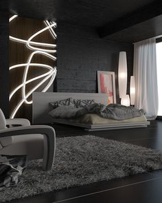 Black bedroom (breakdown) on Behance