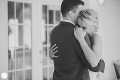 First Look Photo with Bride and Groom, Missouri Wedding, Photographed by Catherine Rhodes Photography, Missouri Based Destination Wedding Photographer