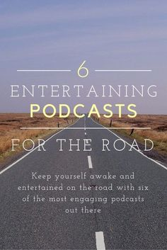 Podcasts offer entertainment for car rides, and can have you longing for extra time on the road. books 6 Entertaining Podcasts for the Road Girl Guides, Ted Talks, Good To Know, Interesting Things To Know, Have Time, Self Help, Audio Books, Just In Case, Documentaries