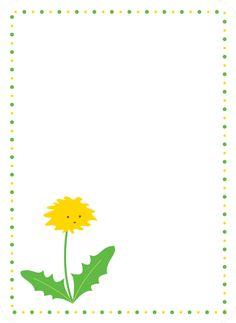 Journaling Card Löwenzahn