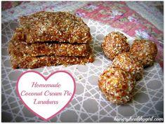 coconut cream pie larabars - my favorite flavor!