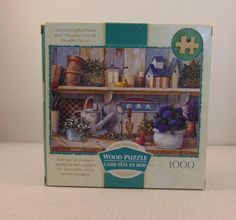"""The Original Wood Puzzle By  Rose Art 19 11/16""""X27 1/2""""  age +12 Rhapsody n Blue #Unbranded"""