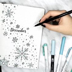 my december plan with me + bullet journal setup is up! ❄️ it's a snowy one, so make sure you get all cozy before you watch link in my bio! can you believe that this is the last month of 2017??? it's crazy!