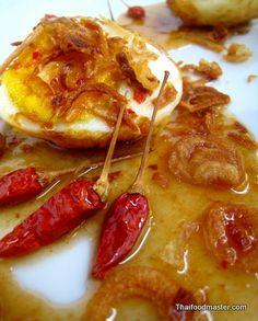 Eggs à la Son In Law   (ไข่ลูกเขย ; Khai luuk kheeuy)