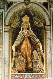 'Madonna di Monte Bérico' / 7 de Marzo – 590º Aniversario / Años: 1426 y 1428 / Lugar: Monte Bérico, Vicenza, Italia / Apariciones de la Virgen a Vincenza Pasini.