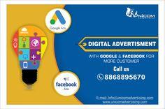 Unicom Advertising: Advertising Agency in India Email Marketing, Internet Marketing, Digital Marketing, Google Facebook, Brand Advertising, Ads Creative, Delhi Ncr, Social Media, Top