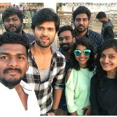 With fans Originally posted by Vijay Actor, Vijay Devarakonda, Indian Celebrities, Life Organization, Telugu, Bae, Cinema, Handsome, Actors