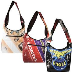 e47c26310d91 Stand out from the crowd with this Recycled Billboard Shoulder Bag from The  Gifting Store  33