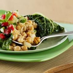 Healthy Dinner Recipe: Quick Tartine with Chickpeas and Chard - Shape Magazine