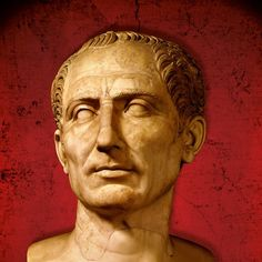 In 49 B.C. on the banks of the Rubicon, Julius Caesar faced a critical choice. To remain in Gaul meant forfeiting his power to his enemies in Rome. Crossing the river into Italy would be a declaration of war. Caesar chose war. Ancient Rome, Ancient Art, Ancient History, Roman Sculpture, Sculpture Art, Iulius Caesar, Mark Antony, Roman History, Roman Emperor
