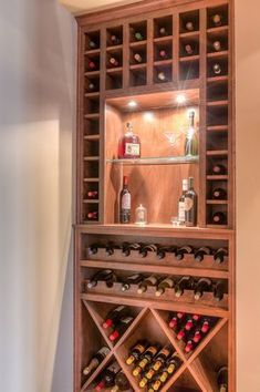 Contemporary Wine Cellar with High ceiling, Built-in bookshe.- Contemporary Wine Cellar with High ceiling, Built-in bookshelf Contemporary Wine Cellar with High ceiling, Built-in bookshelf - Built In Wine Rack, Wine Rack Storage, Wine Rack Wall, Wine Wall, Wine Rack Cabinet, Wine Cellar Basement, Wine Cellar Racks, Beer Cellar, Bar Interior