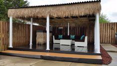 Tropical Patio - Cozy Backyard Retreat - Cali Bamboo Greenshoots Blog