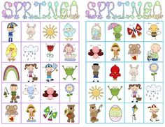 Students of all ages will have a great time playing Springo (like Bingo!) with adorable spring-themed clipart! Included are bingo gameboards for 26 players (or print extras if you need more!) along with calling cards with pictures to show students to provide a visual cue for players to match pictures. Springo is a great way to reward students and play a fun game or you might even use it as a listening and following directions activity. $2.00