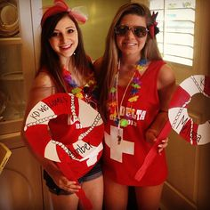 Kappa Delta Life Guard Bid Day | Bows, Pearls & Sorority Girls