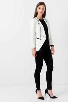 Suzy Shier Cascade Blazer