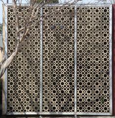 Screening Panels. Ok how to diy this? Pvc, cardboard tubes?