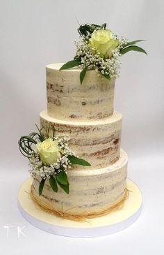 wedding cake by CakesByKlaudia - http://cakesdecor.com/cakes/271946-wedding-cake
