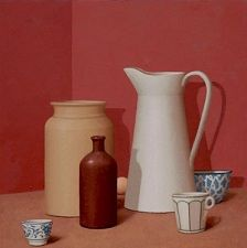 William Bailey still life.