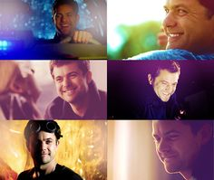 Peter Bishop is perfect. And smiling.