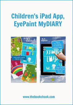 Children's iPad App, EyePaint MyDIARY - $Au1.29. Uses inbuilt camera + encourages kids to explore with it.