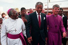 Archbishop Desmond Tutu and Nelson Mandela