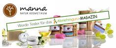 Kennt ihr schon die Produkte von Manna Naturkosmetik? Wir dürfen 4 tolle Testpakete an euch vergeben. Dieses Mal ist sogar auch etwas für die Kids dabei. Ausschreibung vom 17.04.2015-24.04.2015. Nähere Infos findet ihr hier: http://www.abnehmguru-magazin.de/manna-natur-test/