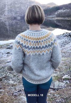 a knit and crochet community Sweater Knitting Patterns, Knitting Charts, Knitting Designs, Icelandic Sweaters, Fair Isle Knitting, Knit Fashion, Crochet Clothes, Knit Crochet, Men Sweater