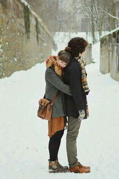 Winter engagement photos, engagement photos и cute couples.
