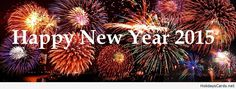 Happy new year 2015 cover for facebook
