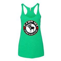 Camp 185 Moose Logo Women's tank top