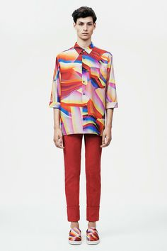 Christopher Kane | Spring 2015 Menswear Collection | Style.com I'll have the shirt please!