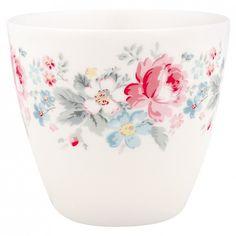Latte Cup Marie Pale Grey