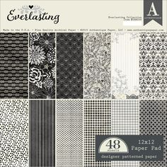 Authentique Everlasting Double-Sided Paper Pad; 12 x 12 - $14.75/ea.