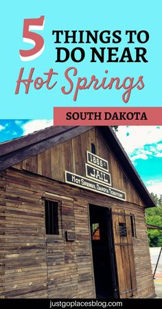 5 Indoor Activities Near Hot Springs South Dakota The landscapes around Hot Springs, South Dakota are beautiful, but there are also plenty of things to do indoor. Check out the top 5 things to do near Hot Springs SD. New Travel, Travel Alone, Travel Usa, Family Travel, Travel Tips, Denver Travel, South Dakota Vacation, South Dakota Travel, North Dakota