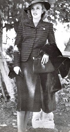 1930's Fashion. ♥